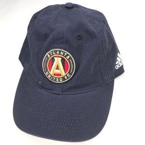 Atlanta untied soccer adidas hat black